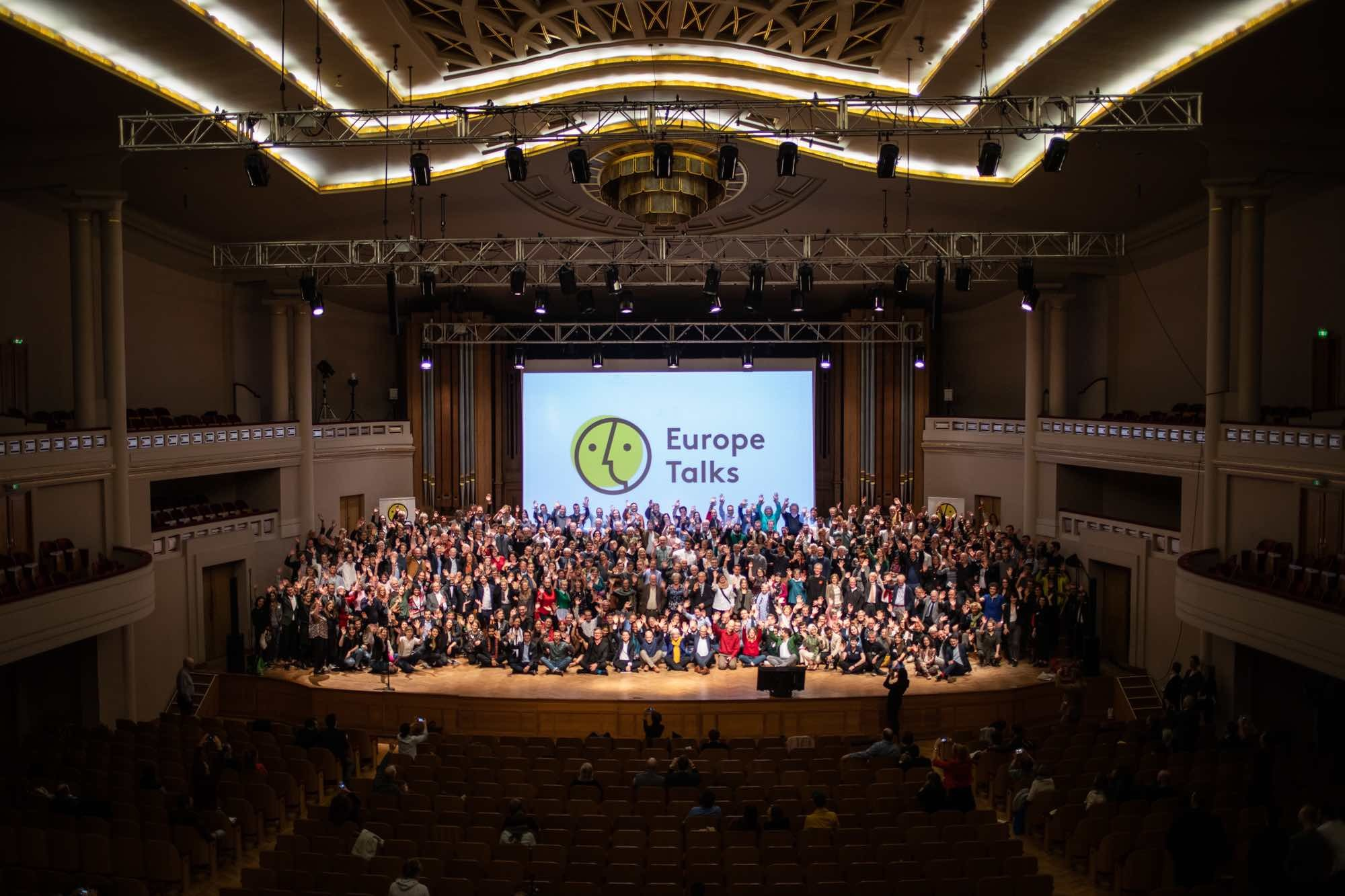 Cover image for the Europe Talks event